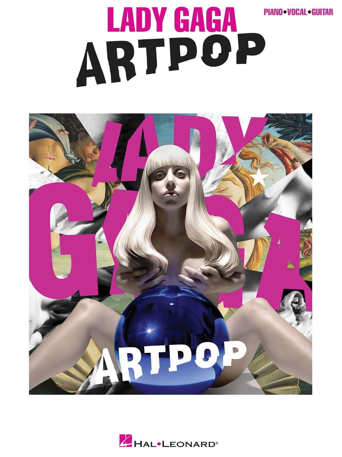 Lady Gaga - artpop - Partition - di-arezzo.co.uk