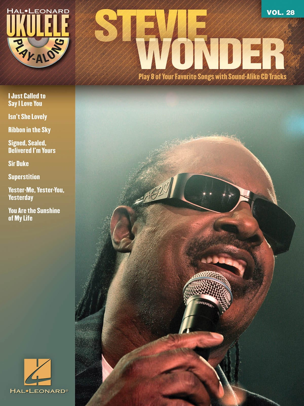 Stevie Wonder - Ukulele Play-Along Volume 28 - Stevie Wonder - Partition - di-arezzo.com