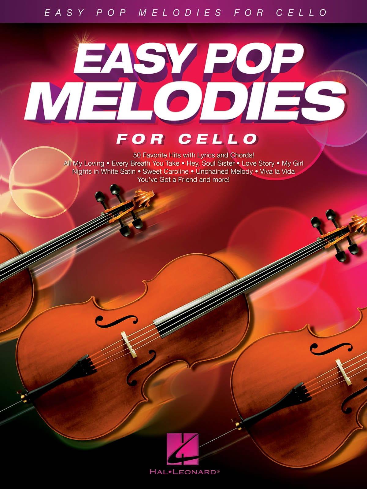 Easy Pop Melodies for Cello - Partition - laflutedepan.com