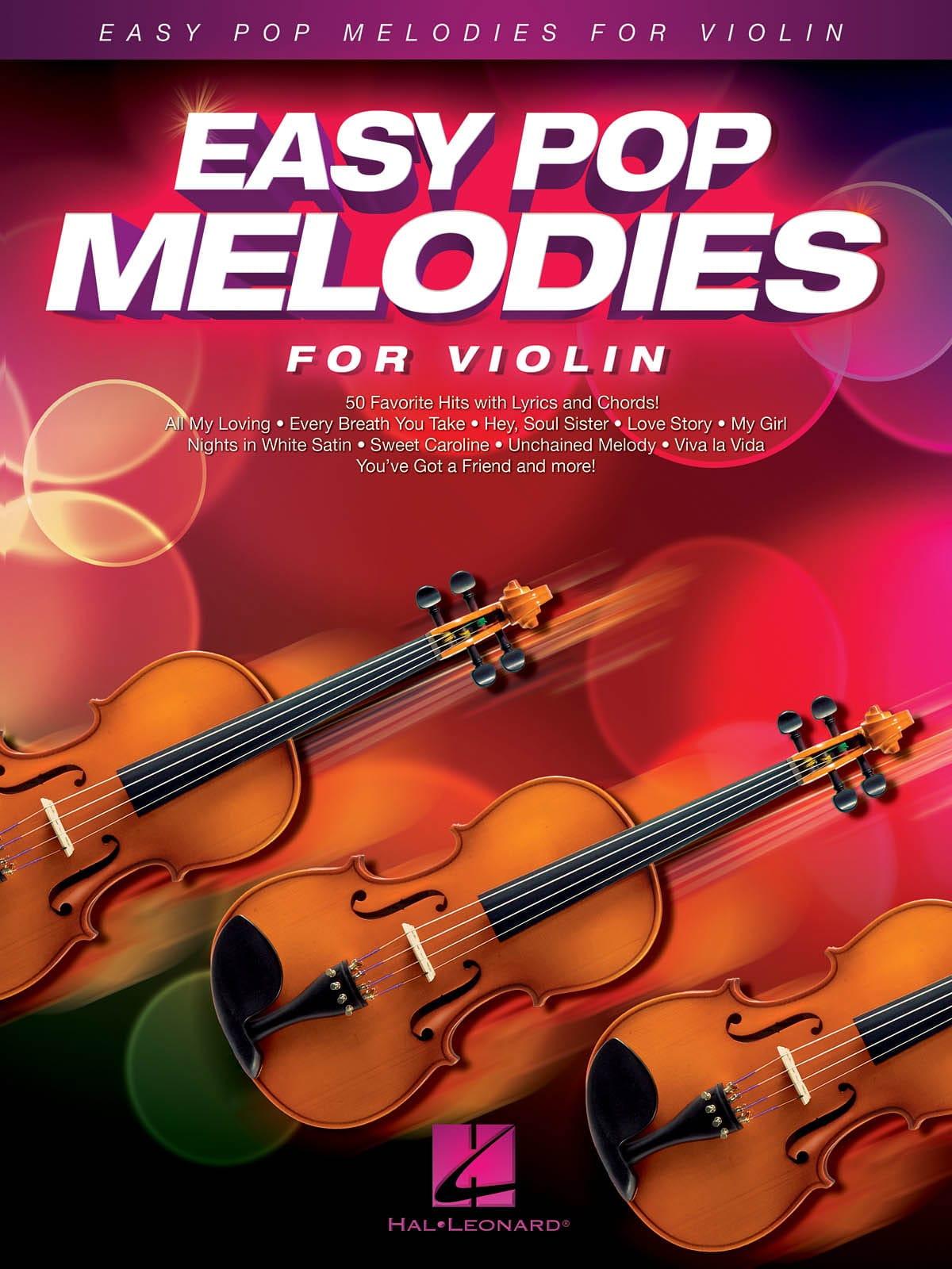 Easy Pop Melodies for Violin - Partition - laflutedepan.com