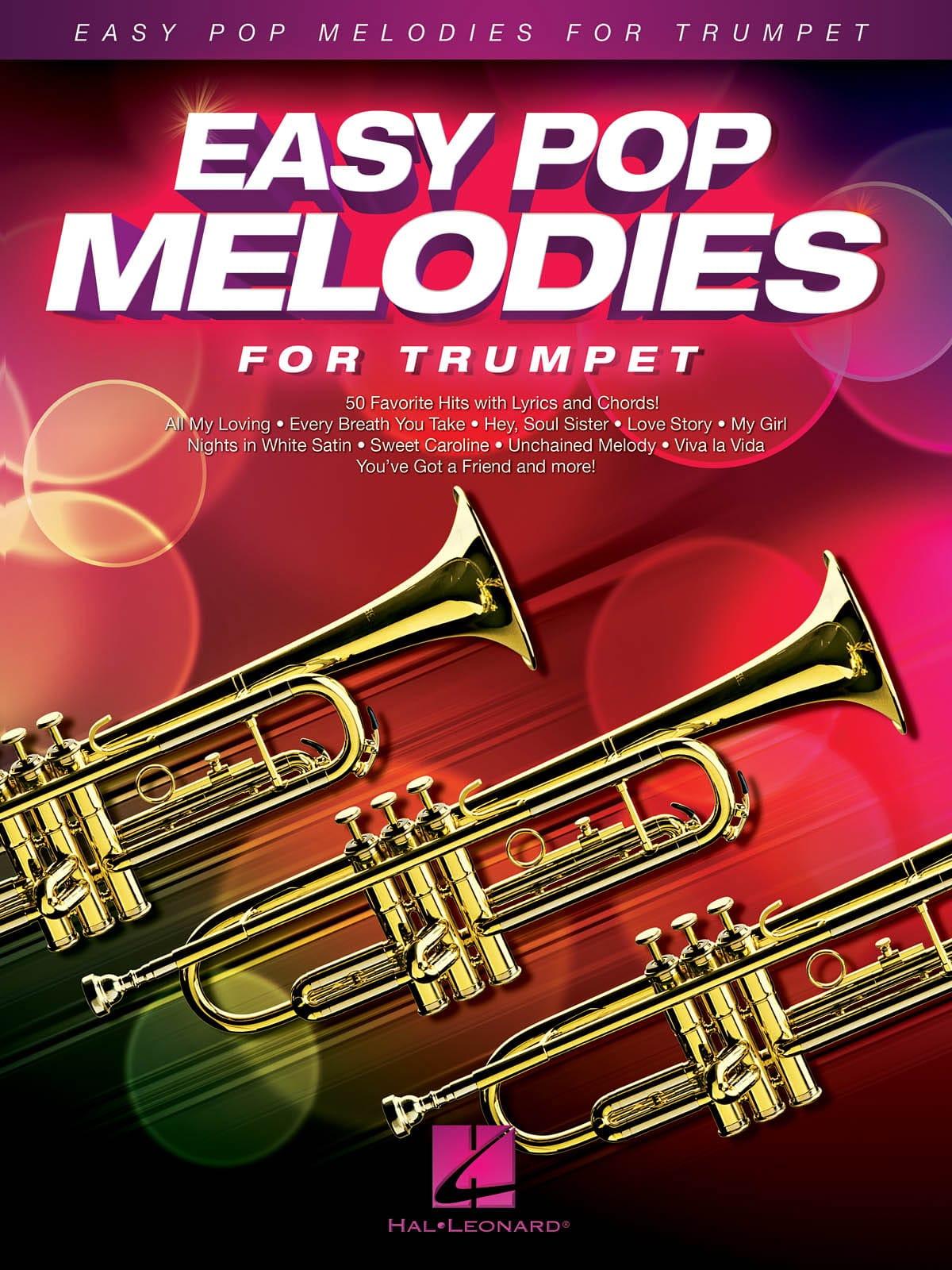Easy Pop Melodies for Trumpet - Partition - laflutedepan.com
