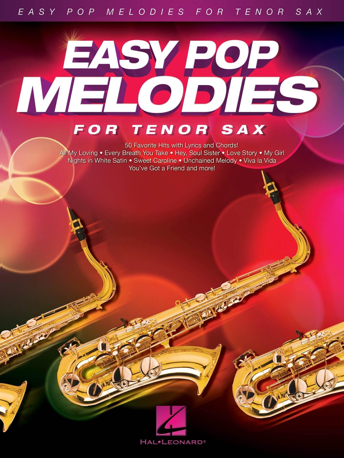 Easy Pop Melodies for Tenor Sax - Partition - laflutedepan.com