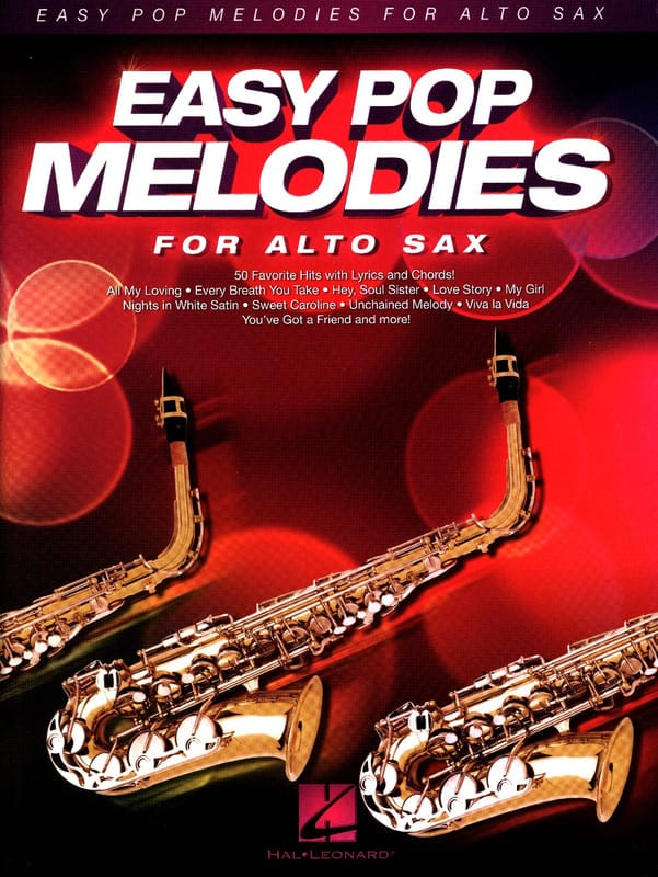 - Easy Pop Melodies for Alto Sax - Partition - di-arezzo.co.uk