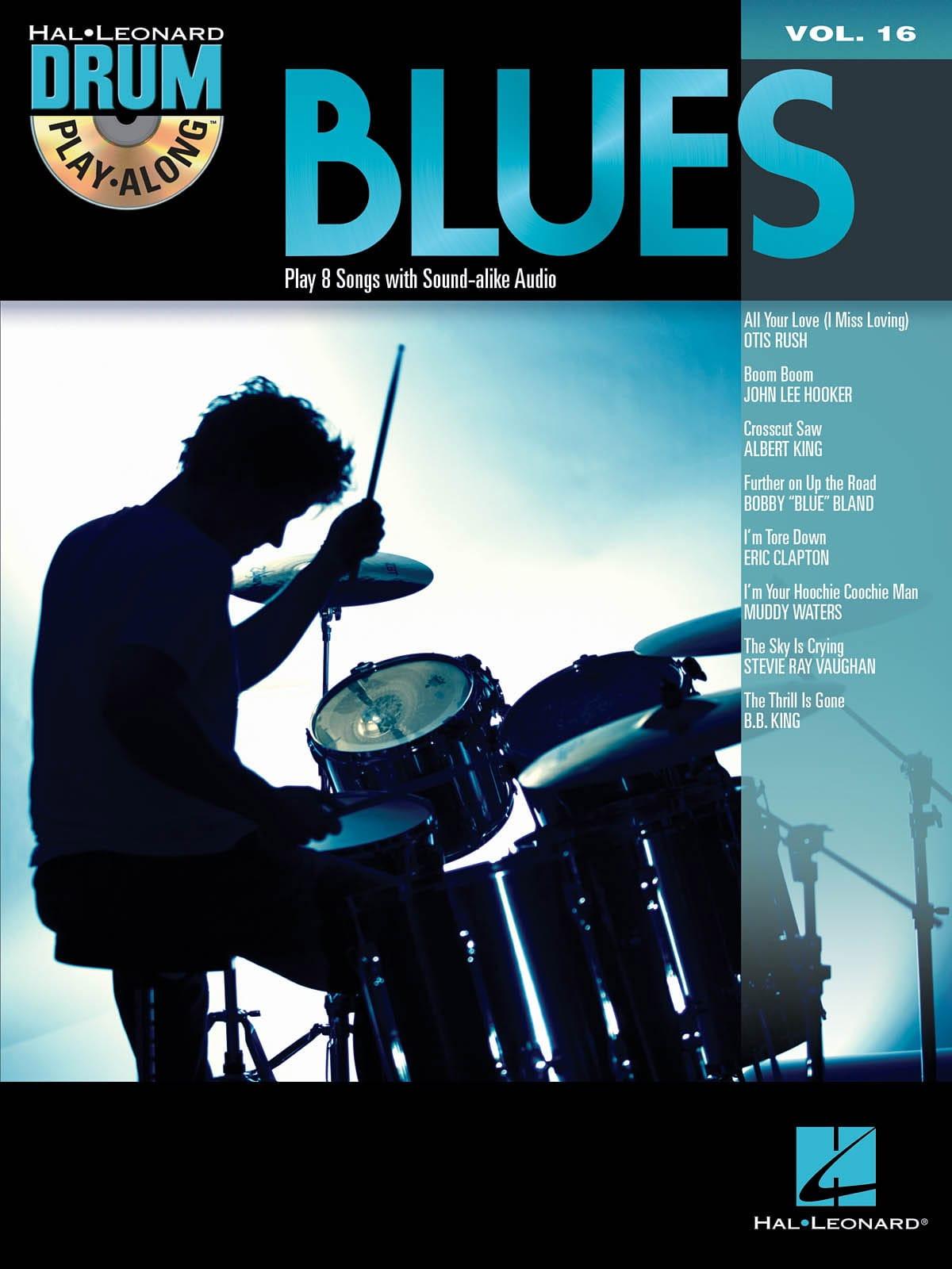 Drum Play-Along Volume 16 - Blues - Partition - laflutedepan.com