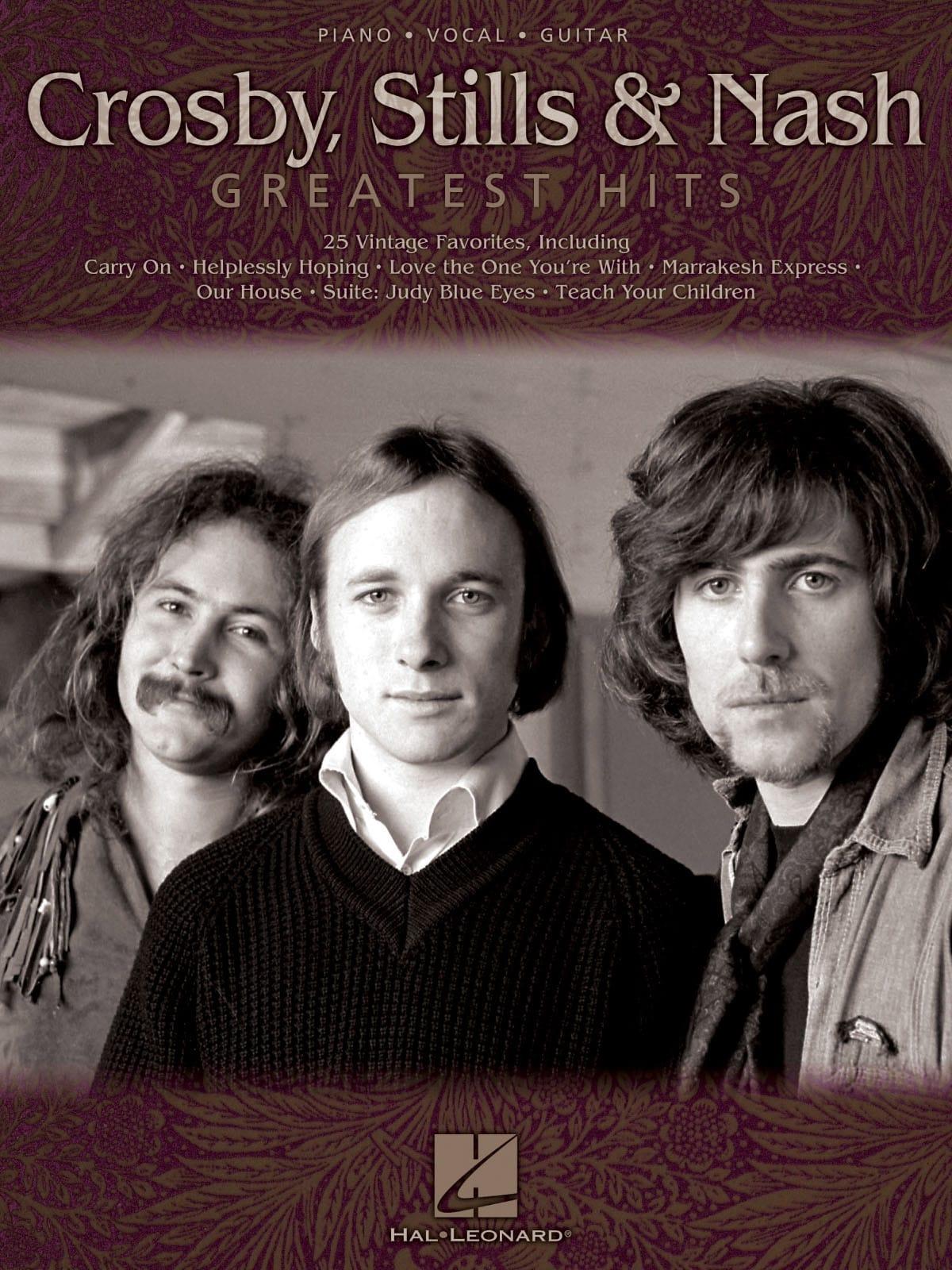 Greatest Hits - Stills & Nash Crosby, - Partition - laflutedepan.com