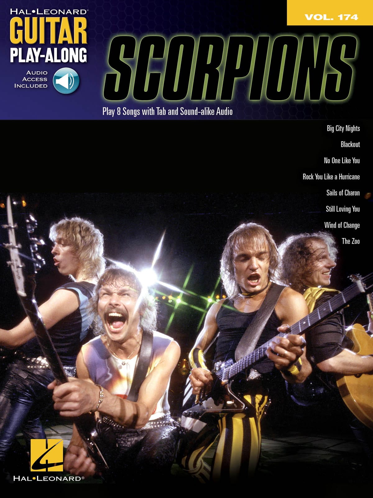 Guitar Play-Along Volume 174 - Scorpions - laflutedepan.com