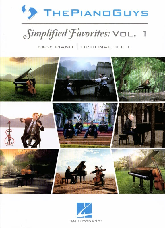 ThePianoGuys - Simplified Favorites Volume 1 - Partition - di-arezzo.com