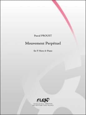 Mouvement perpétuel - Pascal Proust - Partition - laflutedepan.com
