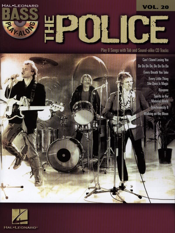 Bass Play-Along Volume 20 -The Police - The Police - laflutedepan.com