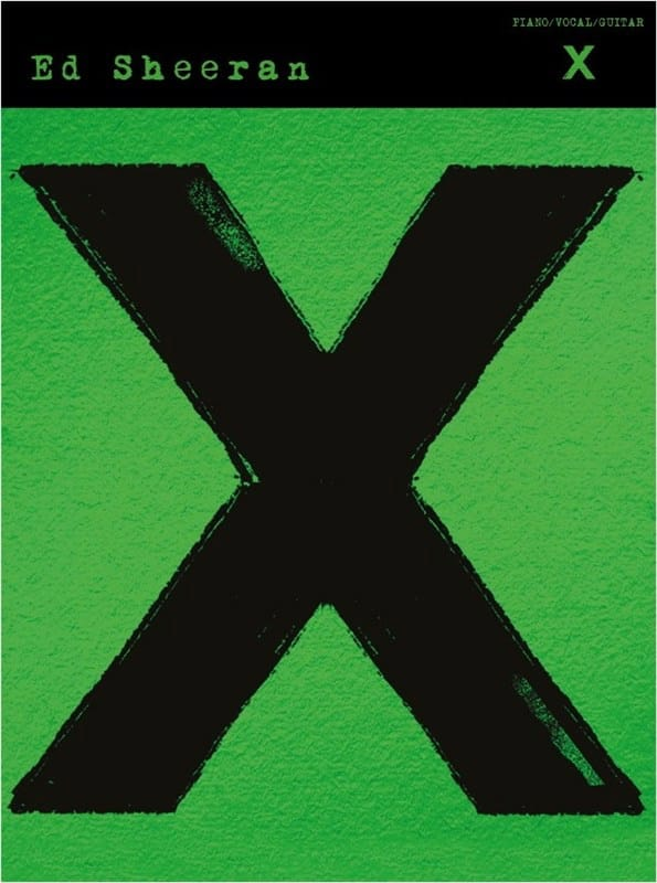 Ed Sheeran - X - Partition - di-arezzo.com