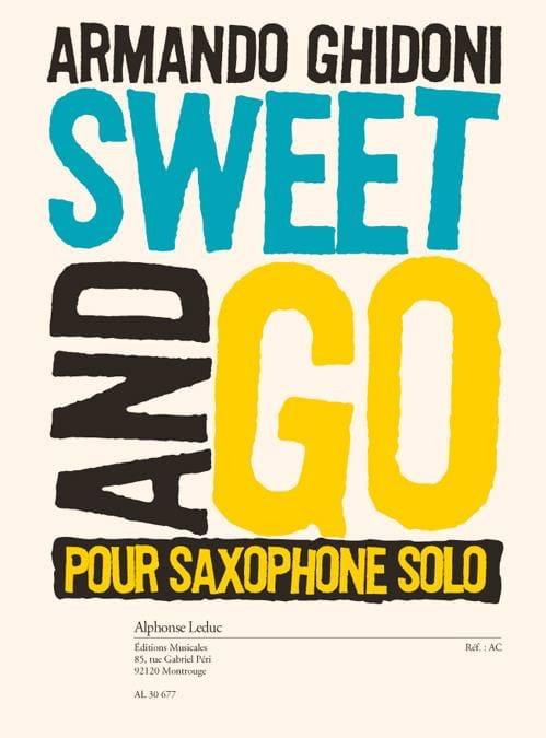 Sweet and Go - Armando Ghidoni - Partition - laflutedepan.com