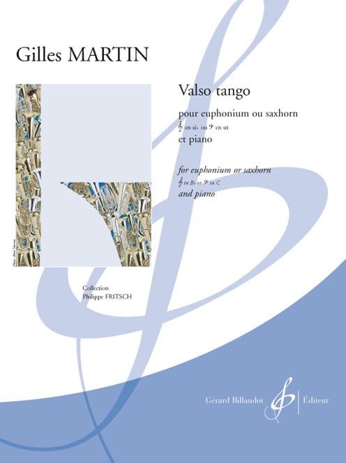 Gilles Martin - Valso tango - Partition - di-arezzo.co.uk