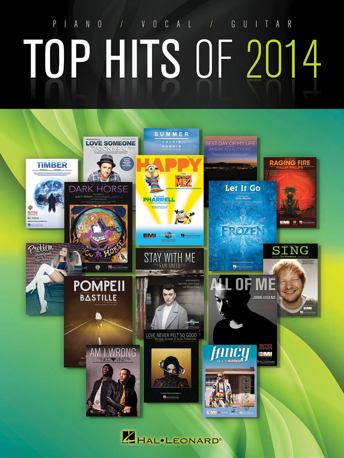 Top Hits of 2014 - Partition - Pop / Rock - laflutedepan.com