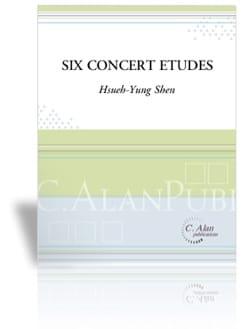 Six Concert Etudes - Hsueh-Yung Shen - Partition - laflutedepan.com
