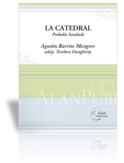 Mangore Agustin Barrios - La Catedral - Partition - di-arezzo.co.uk