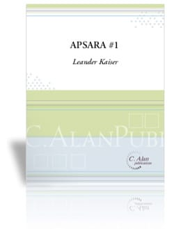 Apsara #1 - Leander Kaiser - Partition - Marimba - laflutedepan.com