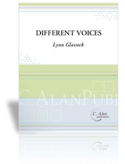 Different Voices - Lynn Glassock - Partition - laflutedepan.com