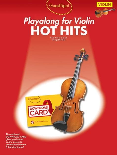 Guest Spot - Hot Hits - Partition - Violon - laflutedepan.com