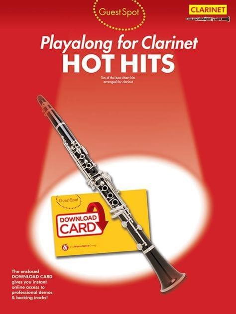 Guest Spot - Hot Hits - Partition - Clarinette - laflutedepan.com