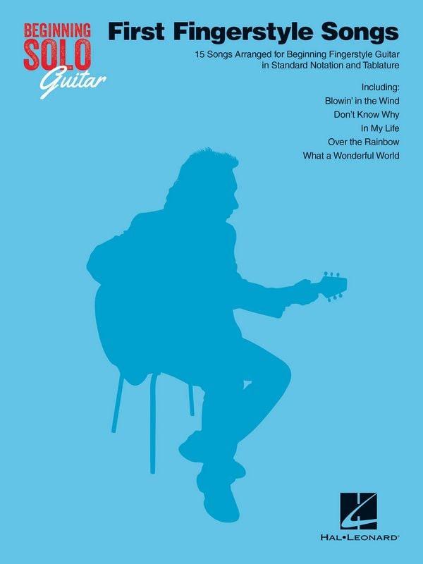 Beginning Solo Guitar - First Fingerstyle Songs - laflutedepan.com