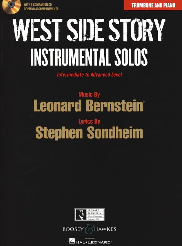 Leonard Bernstein - West side story - Instrumental solos - Partition - di-arezzo.co.uk