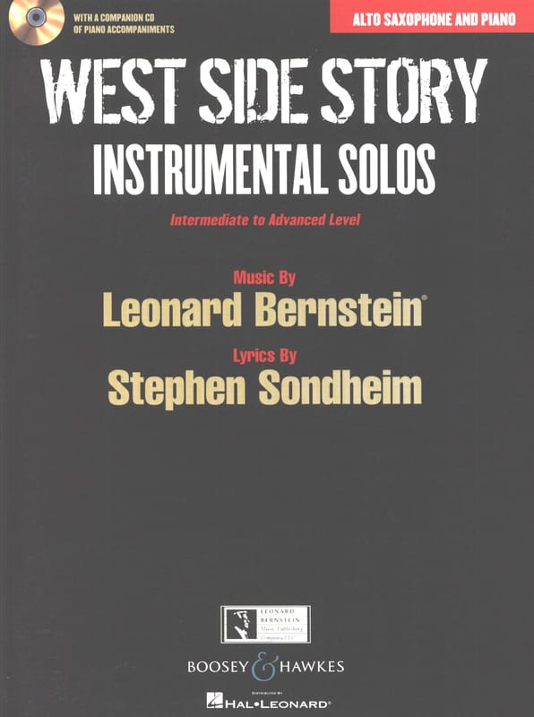 West side story - Instrumental solos - BERNSTEIN - laflutedepan.com