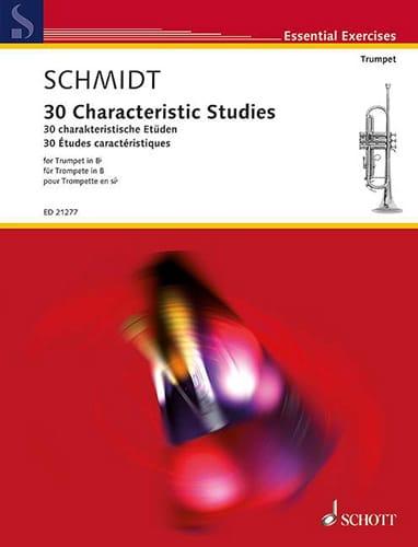 30 Characteristic Studies - Michael Schmidt - laflutedepan.com
