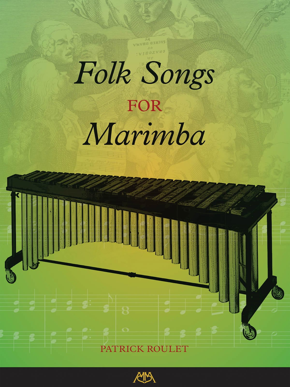 - Folk Songs for Marimba - Partition - di-arezzo.fr