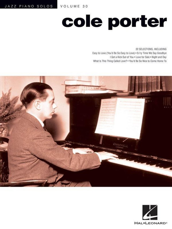 Cole Porter - Jazz Piano Solo Series Volume 30 - Cole Porter - Partition - di-arezzo.co.uk