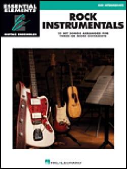 Rock Instrumentals - 15 Hit songs arranged for three or more guitarists - laflutedepan.com