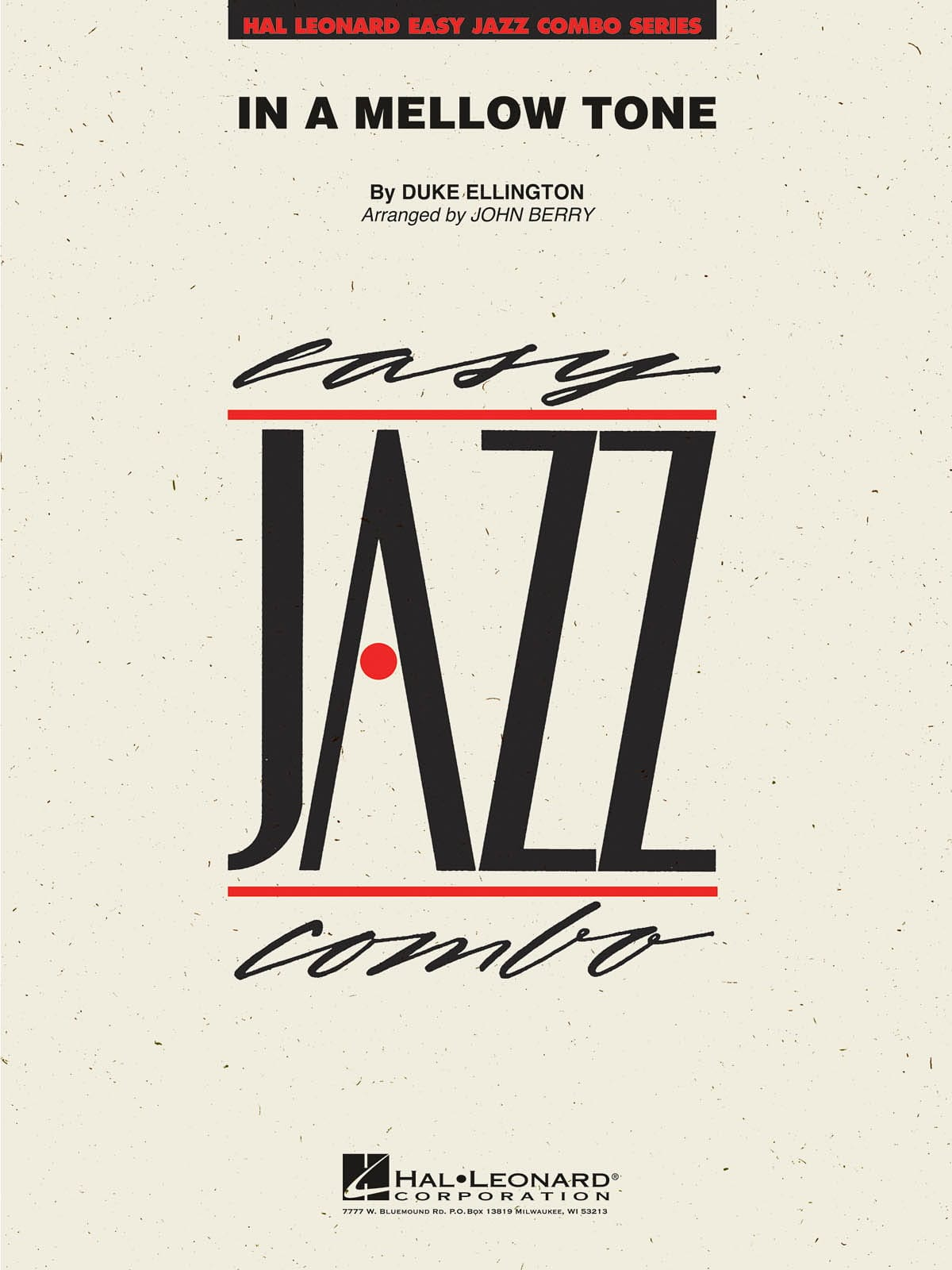 Duke Ellington - In a Mellow Tone - Partition - di-arezzo.co.uk