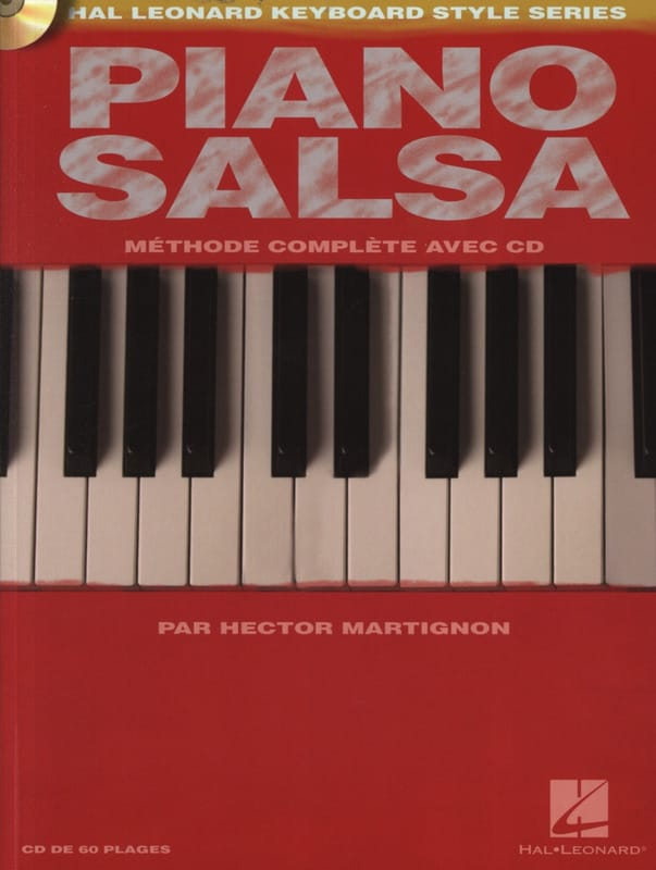 Hector Martignon - Piano Salsa - Complete method - Partition - di-arezzo.co.uk