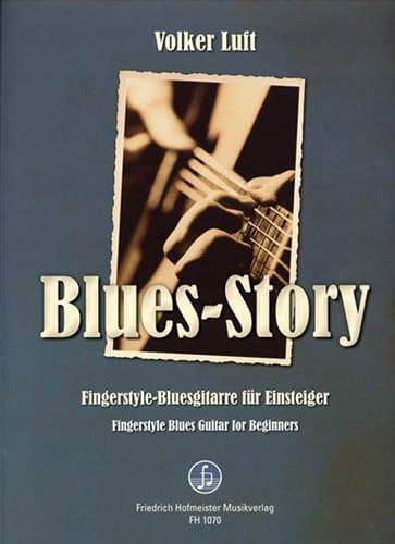Blues-Story - Volker Luft - Partition - Pop / Rock - laflutedepan.com