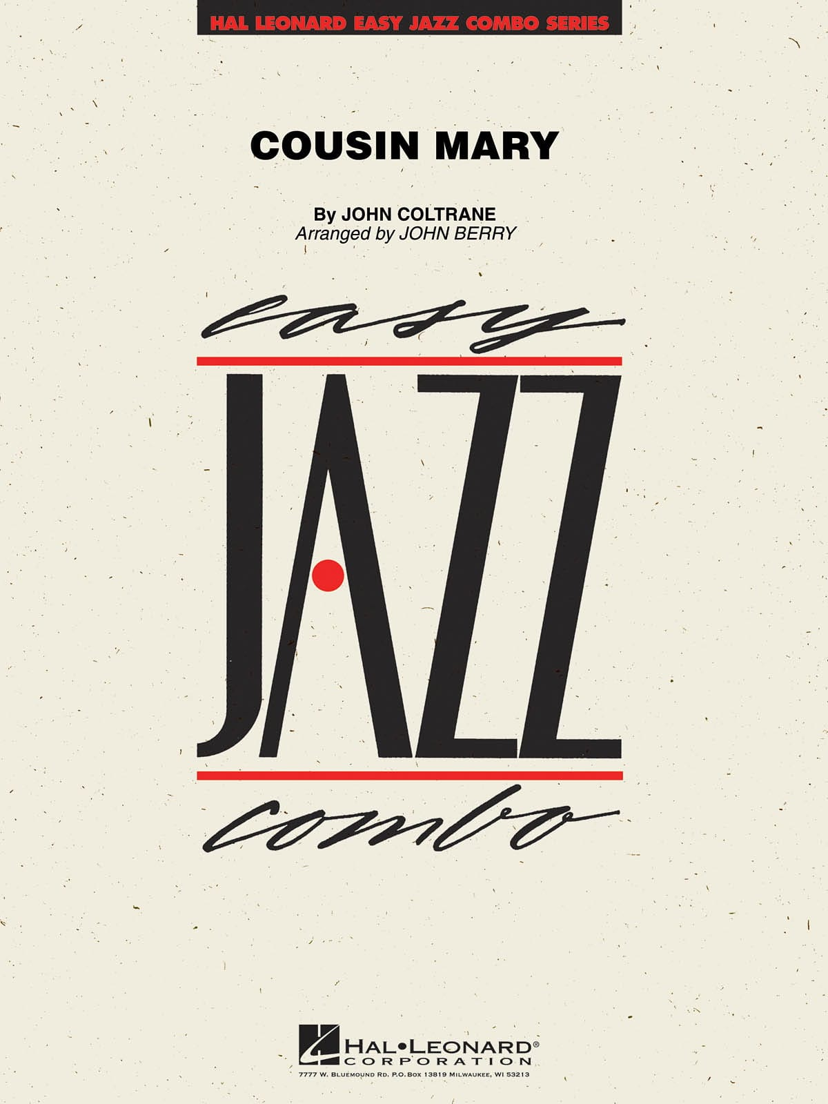 Cousin Mary - John Coltrane - Partition - laflutedepan.com
