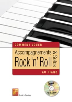 Frédéric Dautigny - Accompaniments - rock 'n' roll solos on piano CD - Partition - di-arezzo.co.uk