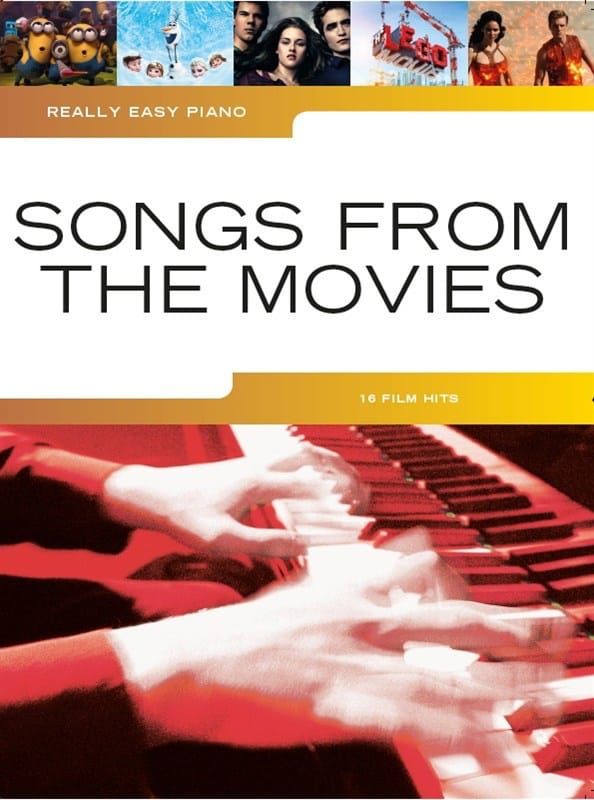 Really Easy Piano - Songs From The Movies - laflutedepan.com