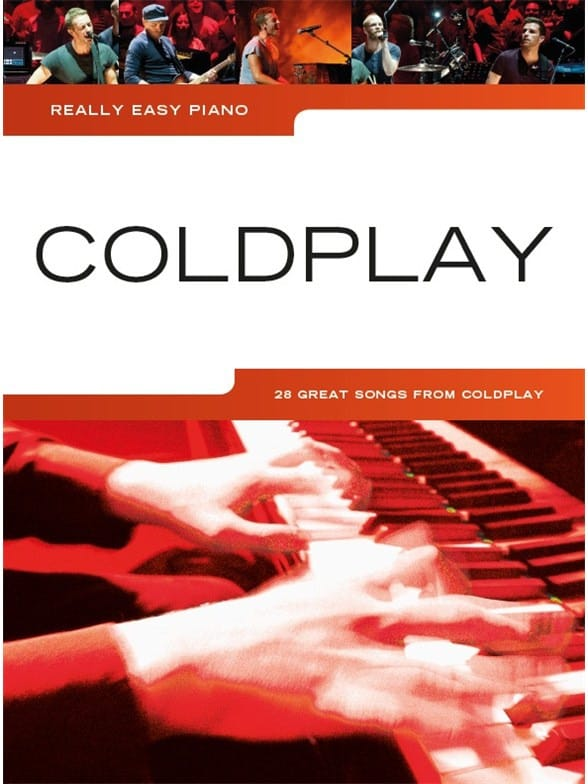 Coldplay - Pianoforte davvero facile - Coldplay - Partition - di-arezzo.it
