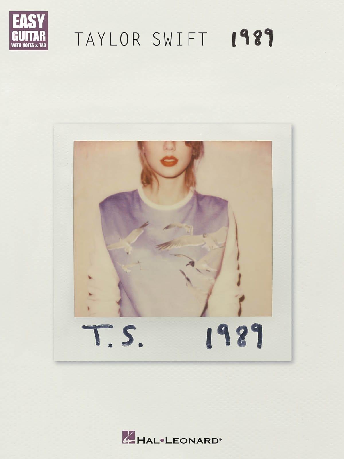 Taylor Swift - 1989 - Partition - di-arezzo.co.uk