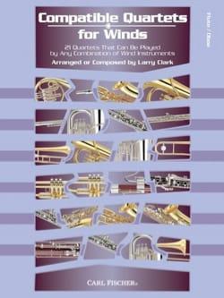 Compatible Quartets For Winds - Partition - laflutedepan.com