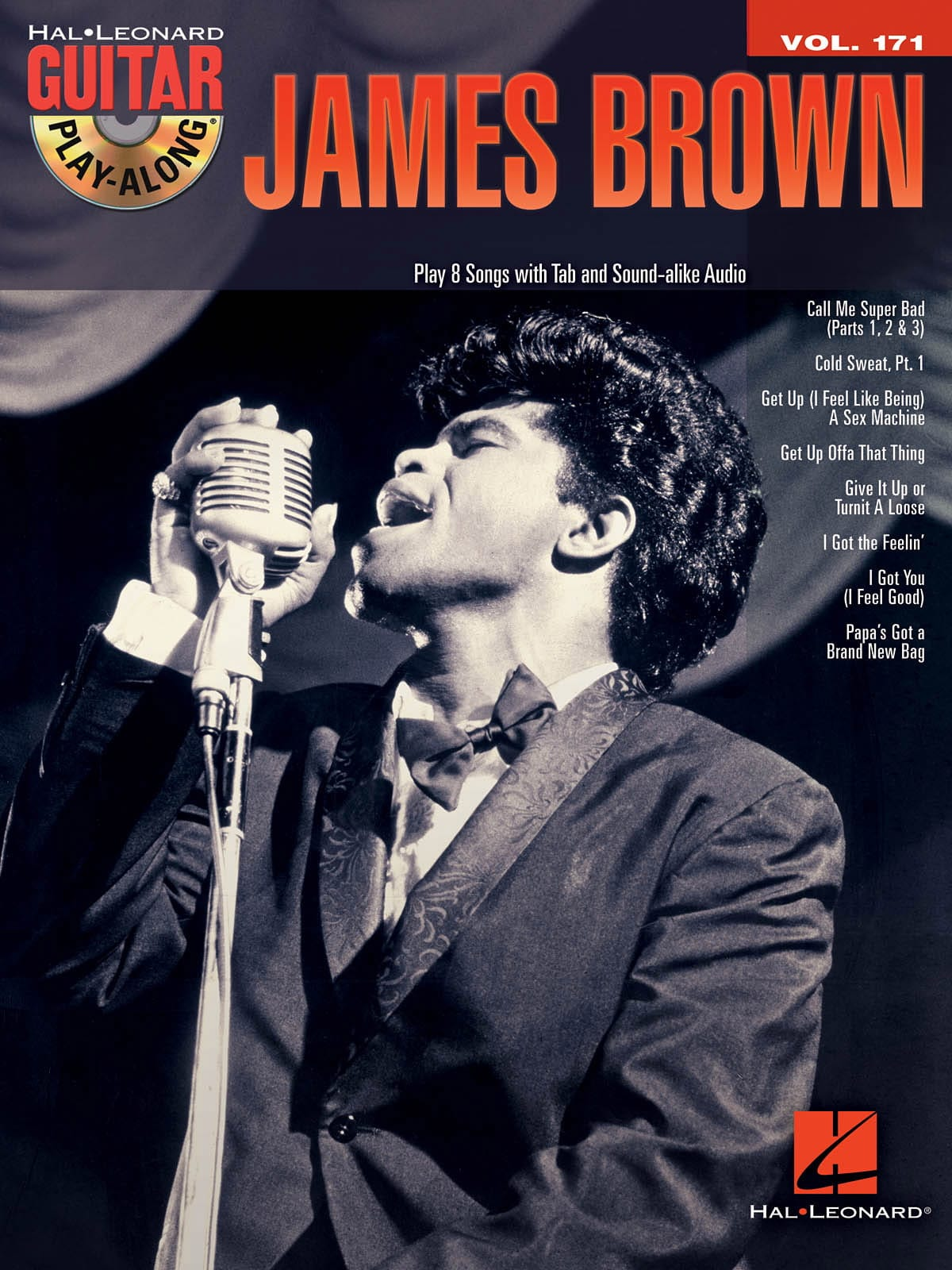 James Brown - Guitar Play-Along Volume 171 - James Brown - Partition - di-arezzo.co.uk