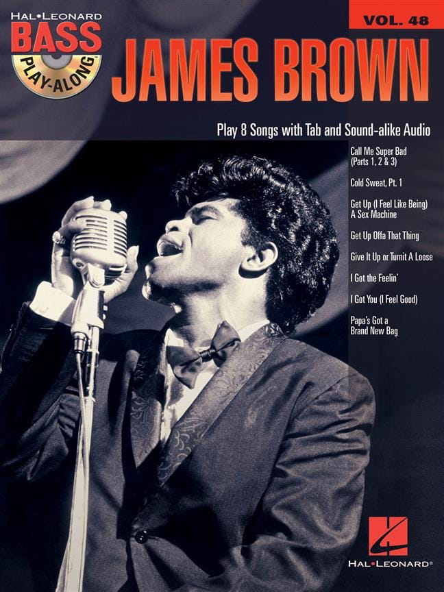 James Brown - Bass Play-Along Volume 48 - James Brown - Partition - di-arezzo.co.uk