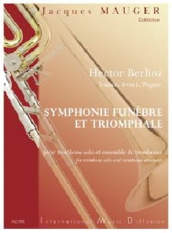 Symphonie Funèbre et Triomphale, opus 15 - BERLIOZ - laflutedepan.com