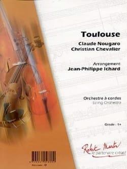 Claude Nougaro - Toulouse - Partition - di-arezzo.es