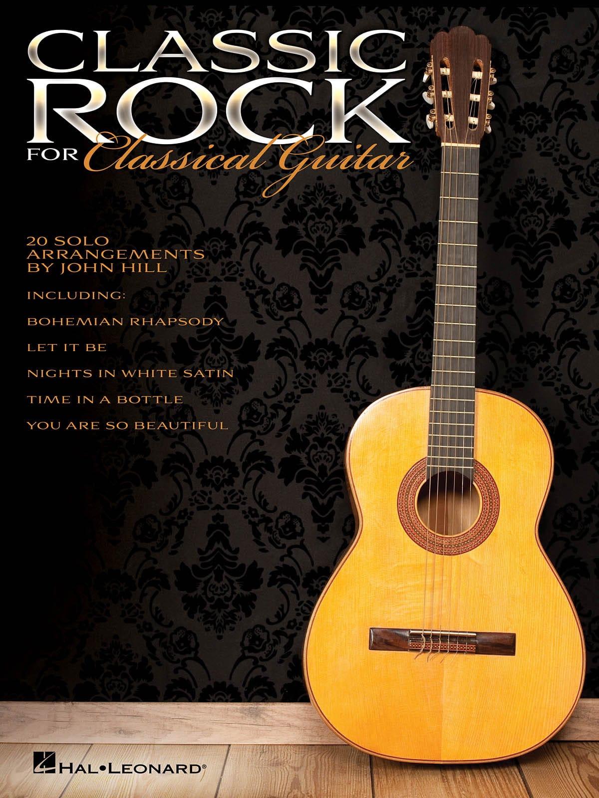 Classic Rock for Classical Guitar - Partition - laflutedepan.com
