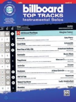 Billboard Top Tracks Instrumental Solos for Strings - laflutedepan.com