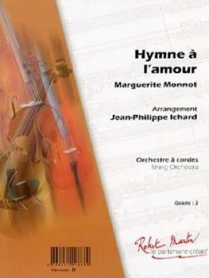 Edith Piaf - Hymne Eine Liebe - Partition - di-arezzo.de