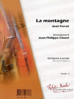 Jean Ferrat - The mountain - Partition - di-arezzo.com