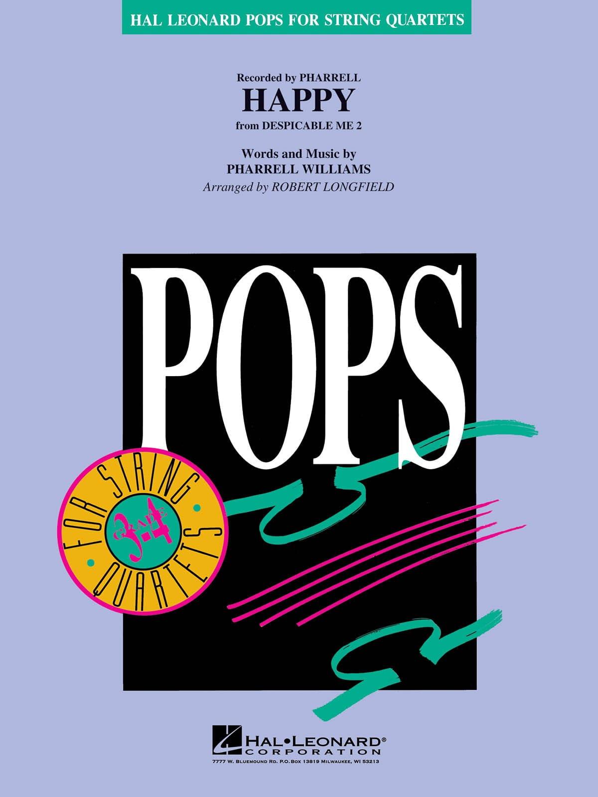 Happy - Pops For String Quartets - laflutedepan.com