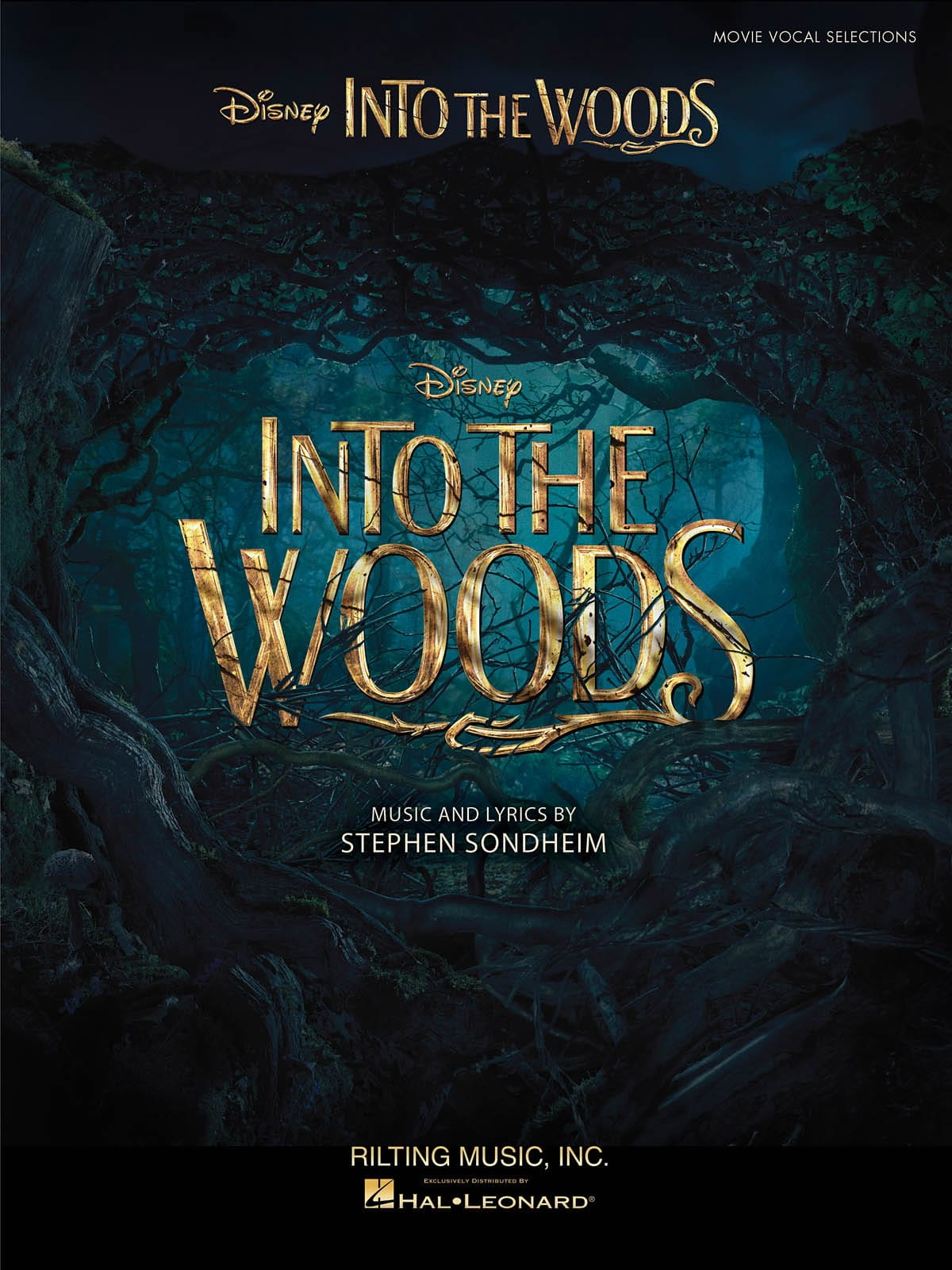 Sondheim Stephen / Disney Walt - Into The Woods - Vocal Selections From The Disney Movie - Partition - di-arezzo.co.uk