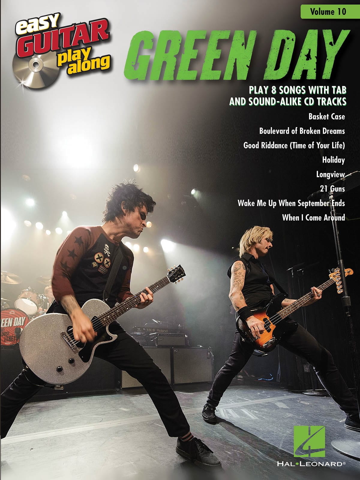 Green Day - Easy Guitar Play-Along Volume 10 - Green Day - Partition - di-arezzo.co.uk